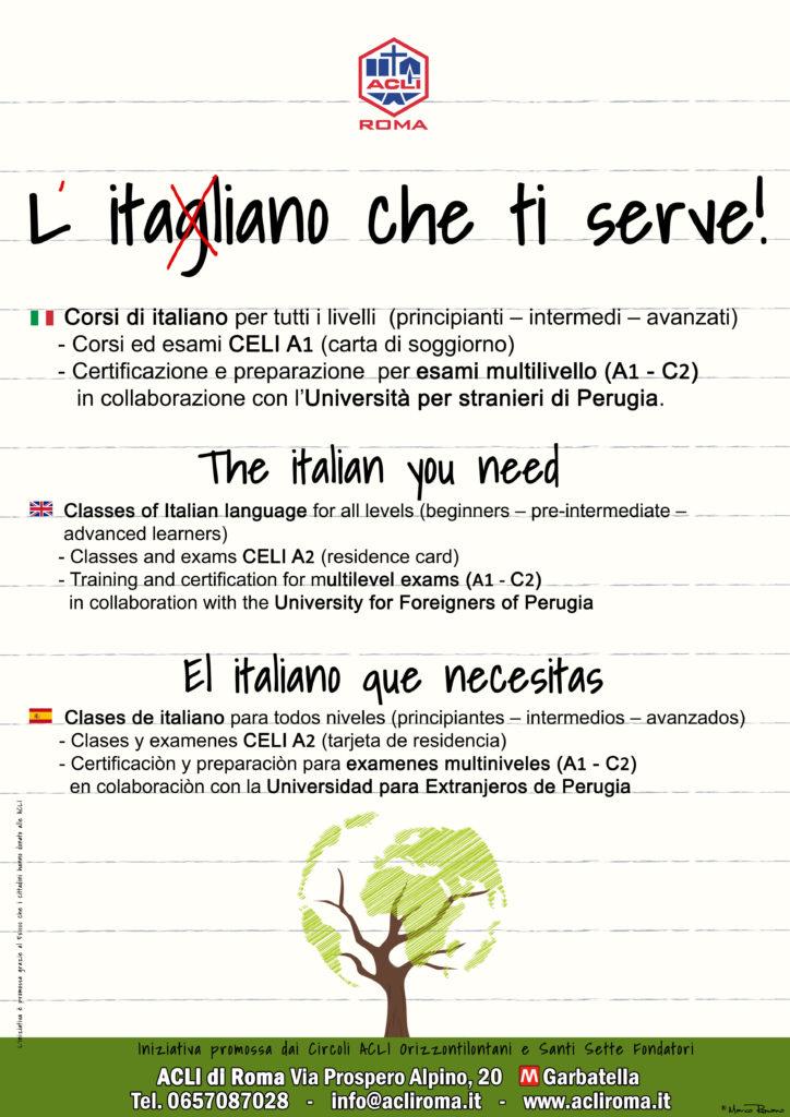 L\'italiano che ti serve\